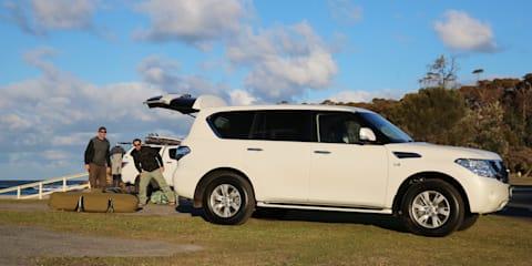 Surfing safari in the 2017 Nissan Patrol Ti