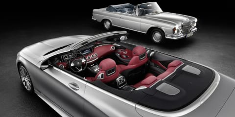 2016 Mercedes-Benz S-Class Cabriolet interior revealed