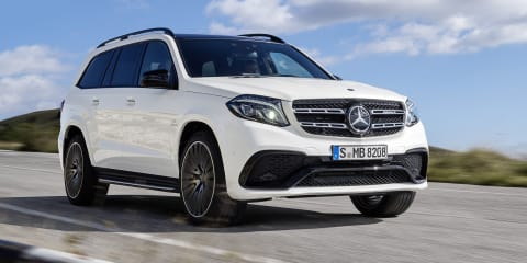 2016 Mercedes-Benz GLS revealed: Big GL gets new name, new look