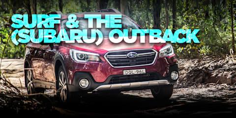 Surfing trip to Ulladulla in the 2017 Subaru Outback 2.5i Premium