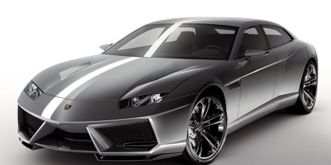 Lamborghini says no to SUV, yes to four-door sedan