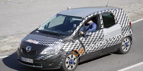 2010 Opel Meriva spy pics