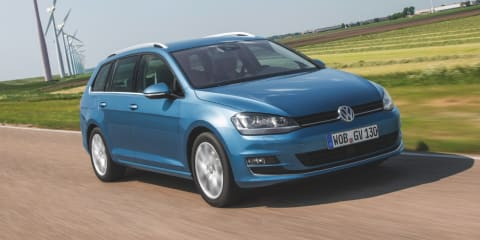 Volkswagen Golf wagon: seven-engine line-up, all-wheel drive option