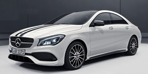 Mercedes-Benz A-Class, GLA, CLA 'White Art Edition' recalled