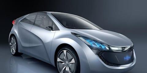 Hyundai's 2.35 litres per 100km Hybrid Concept