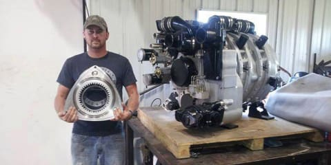 This 11.6L Turbocharged Big Block Rotary Engine is Completely Insane!