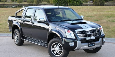 2011 Isuzu D-MAX Limited Edition III now on sale
