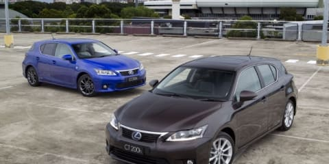 2011 Lexus CT 200h pricing announced for Australia