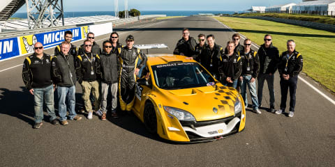 Renault rewards top apprentices and technicians with Megane Trophy V6 hot laps