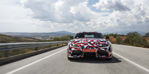 2019 Toyota Supra to offer 'drift mode'