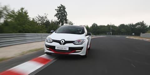 Renault Megane RS275 Trophy-R : Nurburgring passenger hot-lap