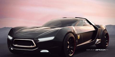 Ford Australia Mad Max 4 Interceptor concepts
