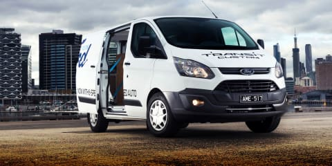 2017 Ford Transit Custom automatic review