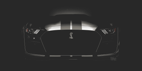 2019 Ford Mustang Shelby GT500 teased