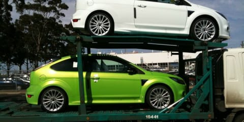 Ford Focus RS arrives in OZ