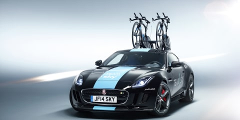 Special one-off Jaguar F-Type R Tour de France support vehicle created