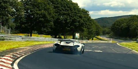McLaren P1 claims Nurburgring lap time under seven minutes