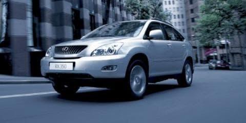 2007 Lexus RX350 SUV Upgrades