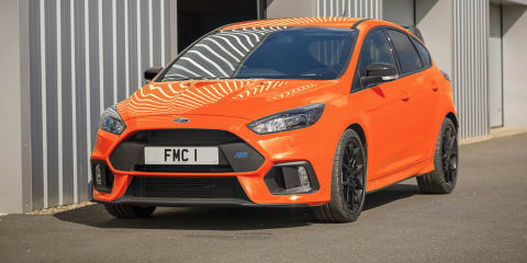 Ford Focus RS Heritage Edition revealed, not for Oz
