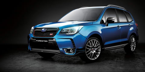 2016 Subaru Forester tS:: $54,990 STI special in Australia from June