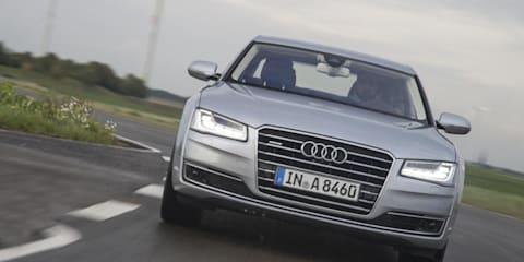 New Audi A8's autonomous driving 'better than most drivers'