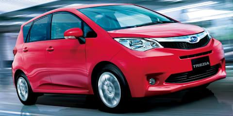 2011 Subaru Trezia compact MPV not for Australia