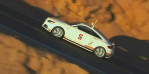 Video: Audi TTS climbs Pikes Peak with no driver