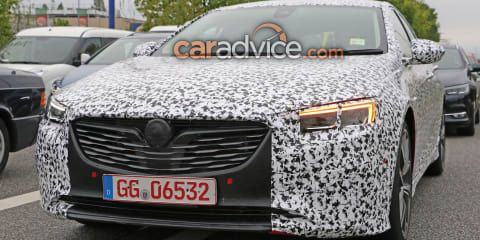 2018 Holden Commodore 'VXR' spied