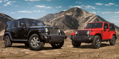 Jeep Wrangler Golden Eagle, Freedom coming to Australia