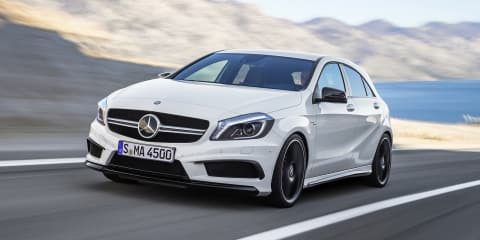 Mercedes-Benz A45 AMG: 265kW hot-hatch unleashed