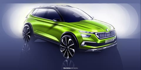 Skoda Vision X concept previewed