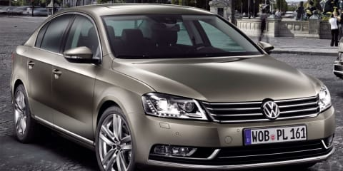 2011 Volkswagen Passat unveiled at Paris Motor Show