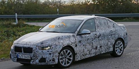 2016 BMW 1 Series front-drive sedan spied again