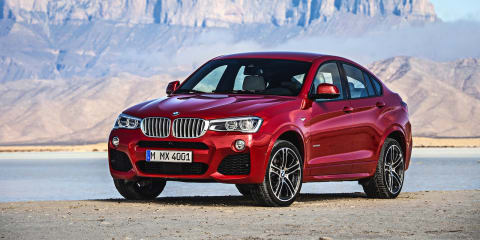 BMW X4 priced from $69,900