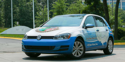 Volkswagen Golf TDI sets new US fuel economy record