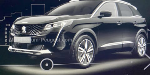 2021 Peugeot 3008: images of updated model leak online