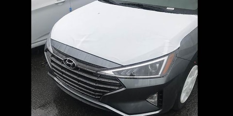 2019 Hyundai Elantra spied without disguise - UPDATE