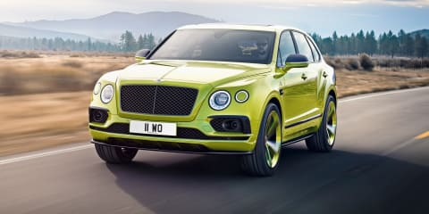 2018 Bentley Bentayga Pikes Peak Edition revealed