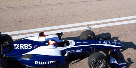 2010 Formula One - First test session