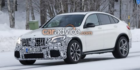 2018 Mercedes-AMG GLC63 Coupe spied