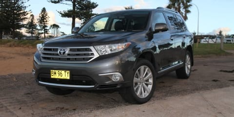 Toyota Kluger Review