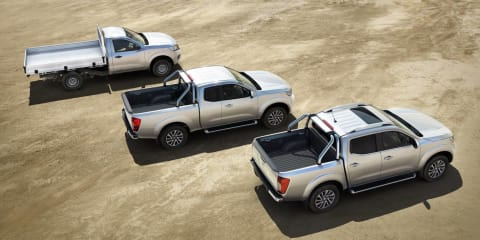 2015 Nissan Navara NP300 additional pricing announced:: single-cab petrol from $19,490