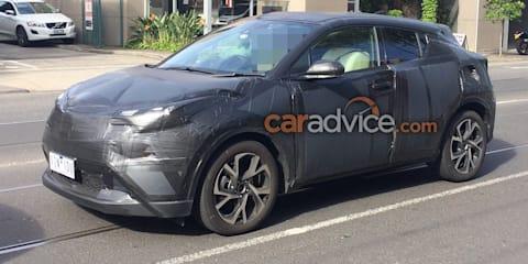 2017 Toyota C-HR spied testing in Australia