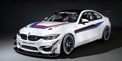 BMW M4 GT4 race car hits Australia
