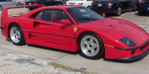 Ferrari F40 for sale on eBay