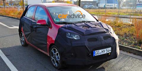2015 Kia Picanto spied undergoing testing