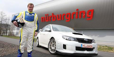 2011 Subaru Impreza WRX STI sets Nürburgring record