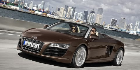 Audi R8 Spider first pics revealed