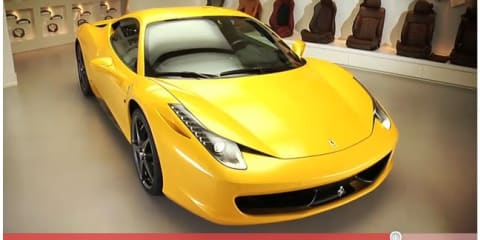 Video: Ferrari 458 Italia Personalisation Programme