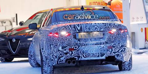 2019 Jaguar XE spied